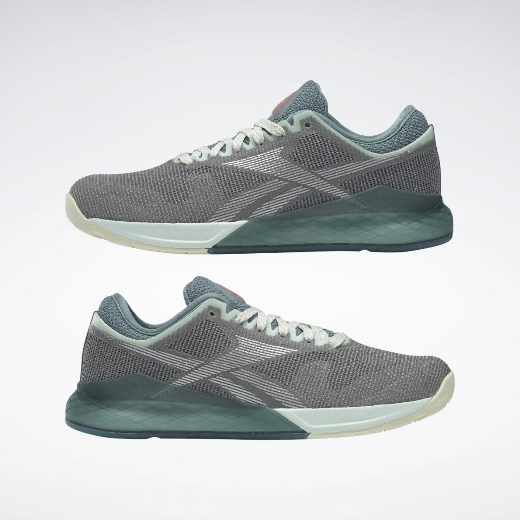 Oscurecer Grabar minusválido  Reebok Cross Training | Reebok Nano 9 Women's Training Shoes Cool  Shadow|Storm Glow|Silver Met. - Womens — Adriana Moragues