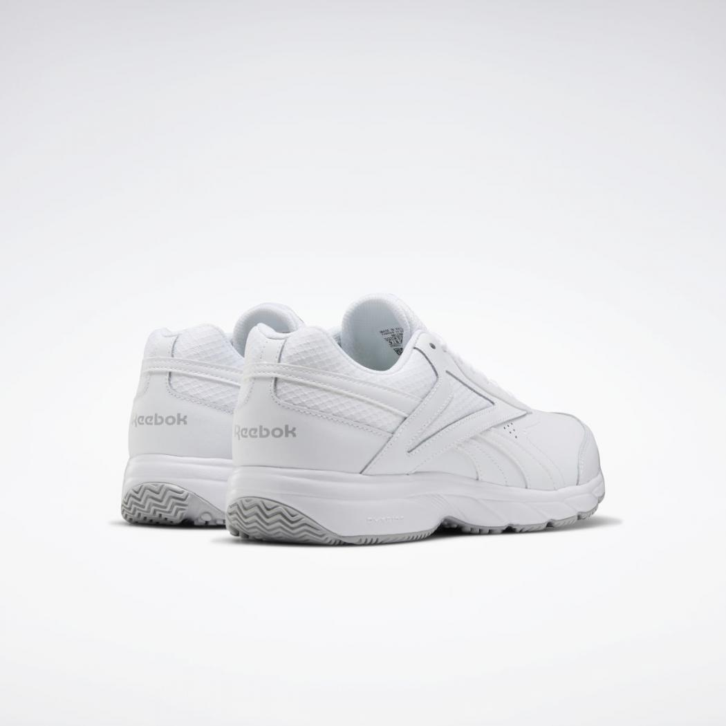 Extra-Wide Men's Shoes White|Cold Grey